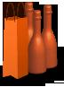 bottiglie piolo e max